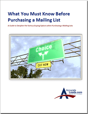 direct mail buyers guide