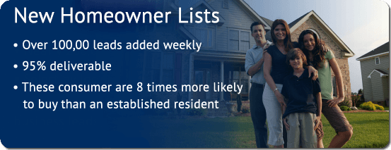 new homeowner mailing lists